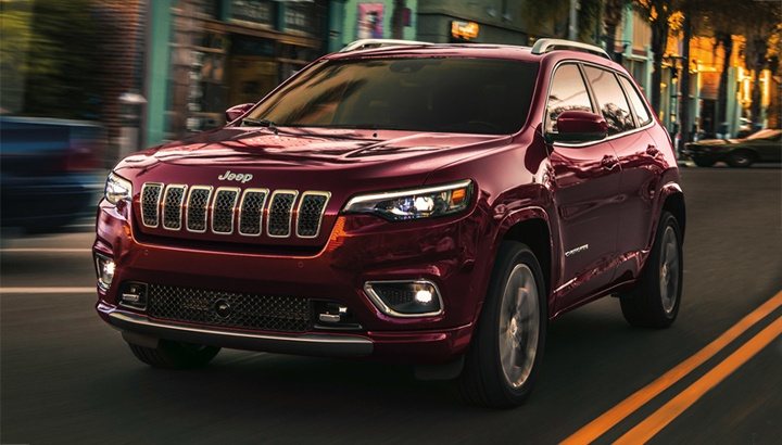 2020 Jeep Cherokee Limited Model