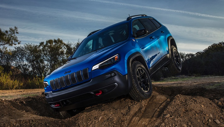 2020 Jeep Cherokee TrailHawk Model
